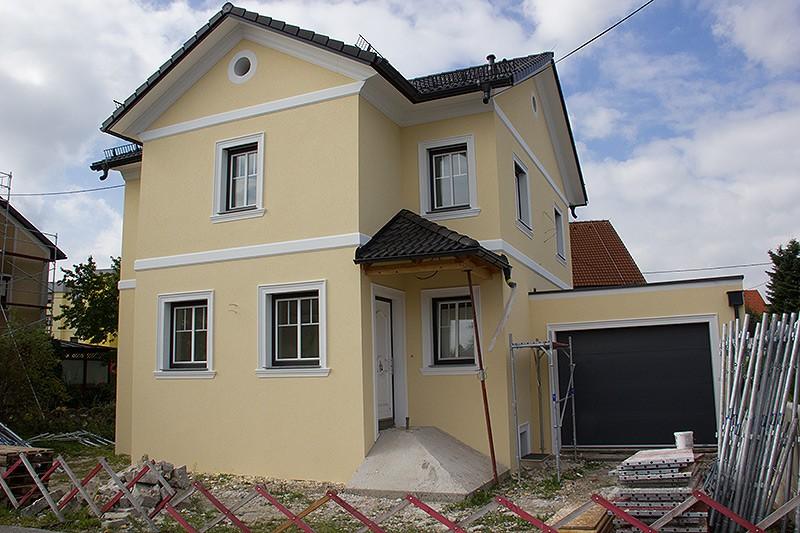Fassade von SMO für Einfamilienhaus in Pasching.